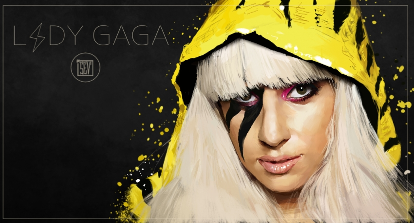 Lady Gaga par S7Lsevenlole